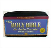 King James Bible on 48 Cassette Tapes Voice Only by Alexander Scourby
